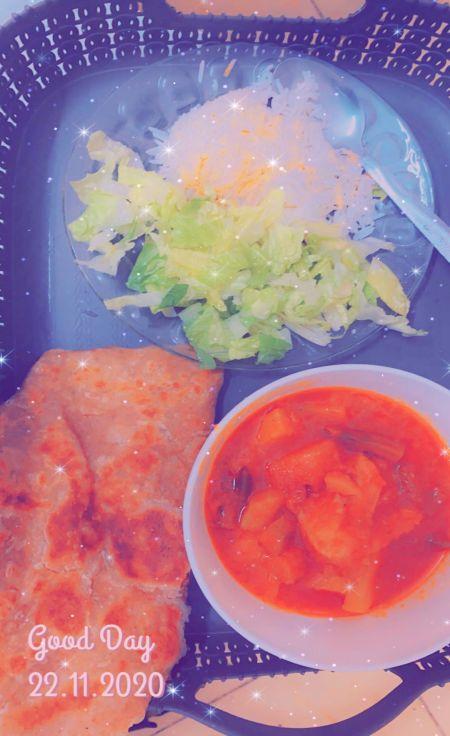 وجبة غداء